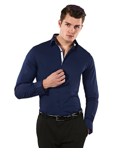 vincenzo-boretti-mens-shirt-body-fit-stretch-specialdarkblue-white175neck