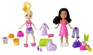 Polly Pocket Pajama Nights Polly and Shani Fashion Bag
