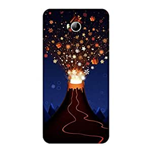 GripIt Volcano of Gifts Case for Micromax Canvas Spark 3 (Q385)