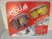 Bolle Intrepid Black Ski/snowboard Goggles with Extra Storm Shield