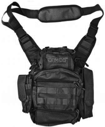 Opmod P.A.C. 3.0 Personal Articles Carrier Bag, Black Sv_Smlpkbg_Opmd_Blk02