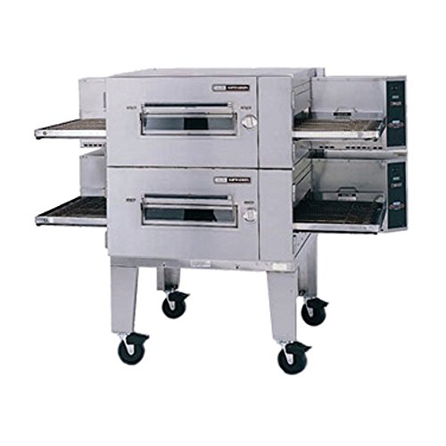 Lincoln 1600-FB2G Gas Double Stack Conveyor Pizza Oven (Commercial Conveyor Pizza Oven compare prices)