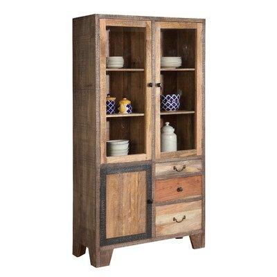 The Wood Times 15-IN6601 Schrank 'Houston', 3 Türen, 3 Schublanden