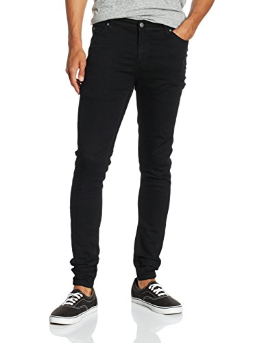 Cheap Monday Him Spray Black-Blu Uomo    Nero W32