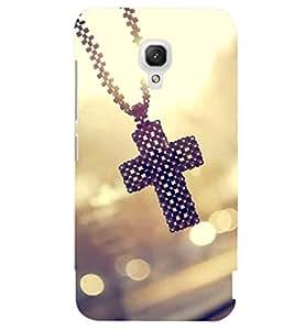 Printvisa Catholic Cross Pendant Back Case Cover for Xiaomi Redmi 2A
