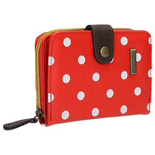 Bella Small Bi-fold Polka Dot Wallet Purse