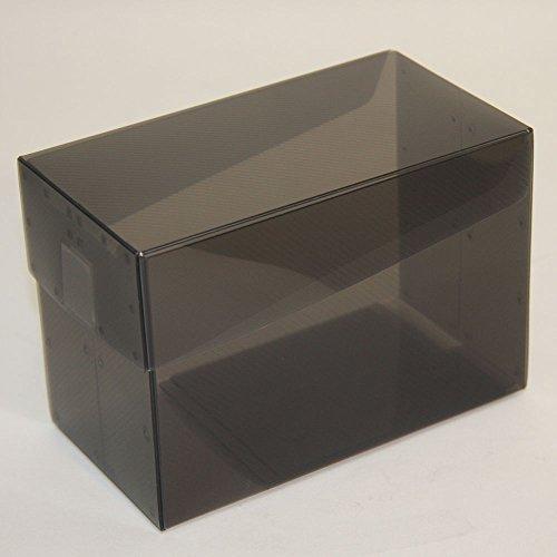 カードケース W LARGE クリアブラック