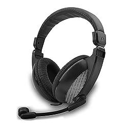Amkette TruChat Boomer Wired Gaming Headset (Grey)