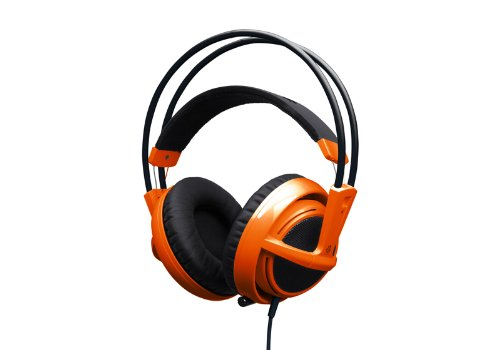 SteelSeries Siberia V2 FullSize Headset with Microphone - Orange (PC) Black Friday & Cyber Monday 2014