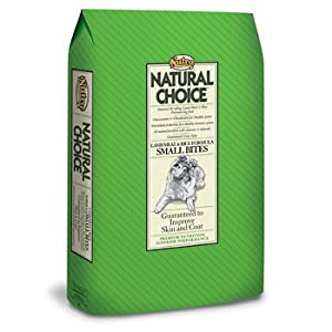 Nutro Natural Choice Small Bites - Lamb & Rice - 17.5 lb
