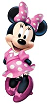 RoomMates RMK2008GM Mickey and Friends Minnie Bow-tique
