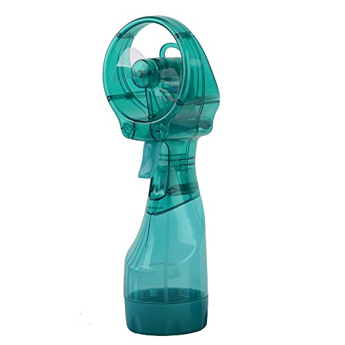 O2COOL® Deluxe Misting Fan, Teal (02 Cool Usb Fan compare prices)