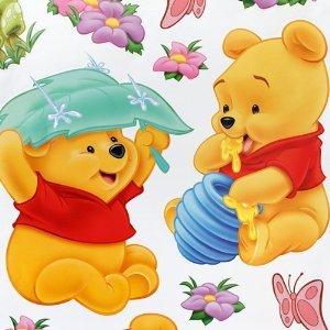 Winnie The Pooh Rainy Wall Decoration Decal Sticker Nursery