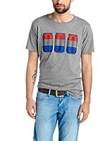 Esprit Camiseta Manga Corta (Gris)