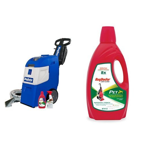 Rug Doctor Mighty Pro X3 Pet Pack and Rug Doctor Pet Pro Carpet Cleaner,64oz Bundle (Upholstery Rug Doctor compare prices)
