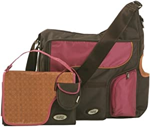 jj cole system bag cocoa pink. Black Bedroom Furniture Sets. Home Design Ideas
