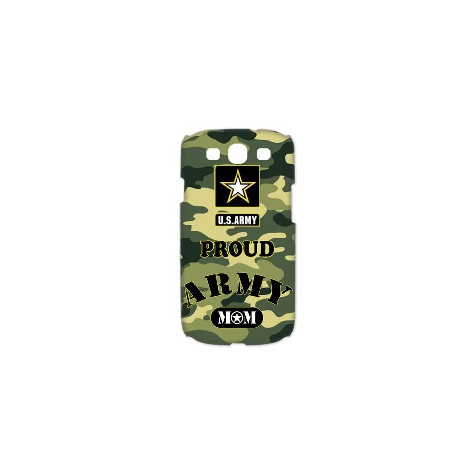 Proud Army Mom SamSung Galaxy S3 Case 3D Special US Army Design Galaxy S3 Case 3D