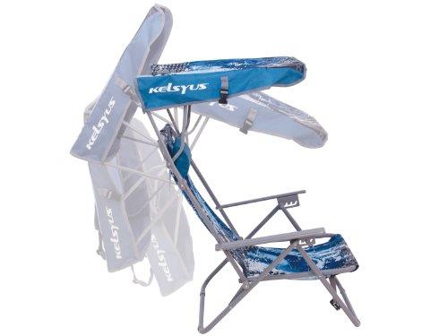 Kelsyus Wave Beach Canopy Chair (Blue)