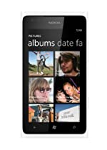 Nokia Lumia 900 16GB Unlocked GSM Phone with Windows 7.5 OS, AMOLED Touchscreen, 8MP Camera, GPS, Wi-Fi, Bluetooth, FM Radio and microSD Slot - White