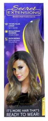 secret extensions hair extensions by daisy fuentes as