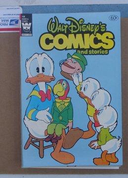 Walt Disney`s Comic And Stories Whitman Comic Book #498