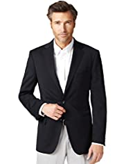 Big & Tall Ultimate Performance 2 Button Blazer with Wool