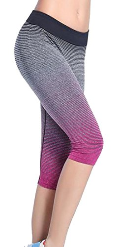 Generic-Women-Gradients-Athletic-Running-Leggings-Yoga-Lounge-Pants