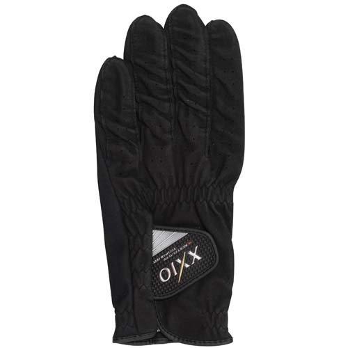 DUNLOP(ダンロップ) XXIO ゼクシオ ソフトフィール ゴルフグローブ ブラック 21cm GGG-X004