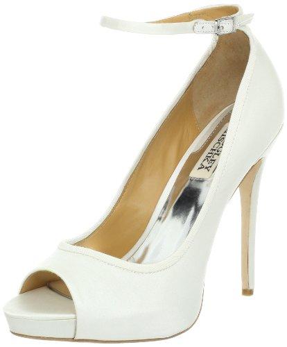 badgley-mischka-aria-peep-toe-high-heels-schuhe-damen-plateau-weiss-wht-grosse-415