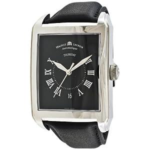 Maurice Lacroix Men's PT6147-SS001-31E Pontos Rectangulaire Watch by Maurice Lacroix