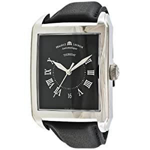 Maurice Lacroix Men's PT6147-SS001-31E Pontos Rectangulaire Watch