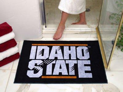 NCAA Idaho State Tigers Chromo Jet Printed Rectangular Area Rug Floor Mat 45