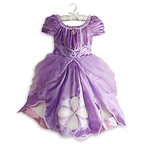 Disney Sofia Costume for Girls 2014 Style - Size 7/8