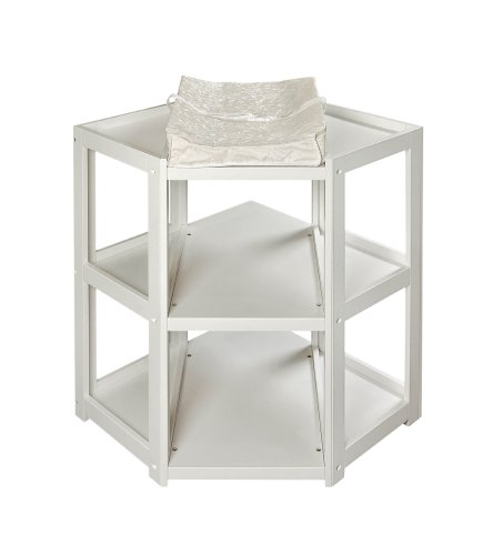 gt cheap badger basket corner changing table white for sale home kitchen in us