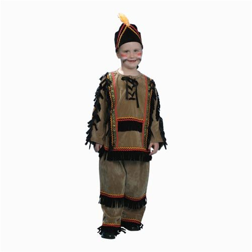 Deluxe Indian Boy Costume Set - Toddler T2