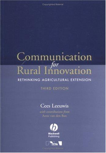 Communication for Rural Innovation: Rethinking...
