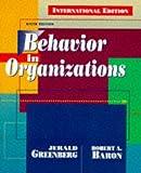 Behavior in Organizations (Prentice Hall International Editions) (0137241895) by Baron, Robert A.