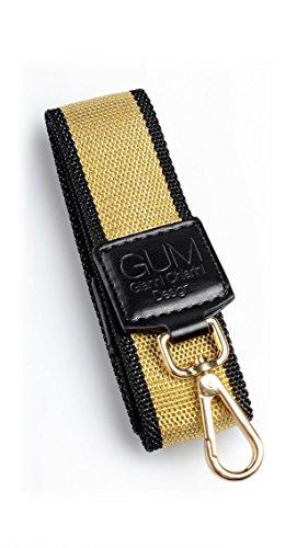 TRACOLLA PER BORSA GUM BY GIANNI CHIARINI 65 GOLD - Made in Italy
