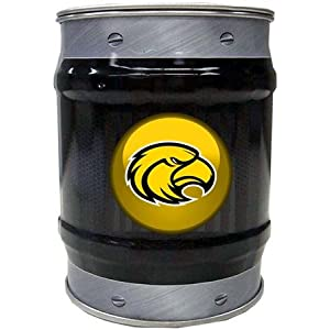 Southern Miss Golden Eagles USM NCAA Basketball Black And Grey Bolt Design Tin Bank