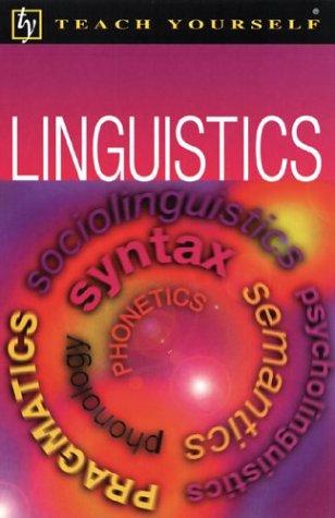 Teach Yourself Linguistics