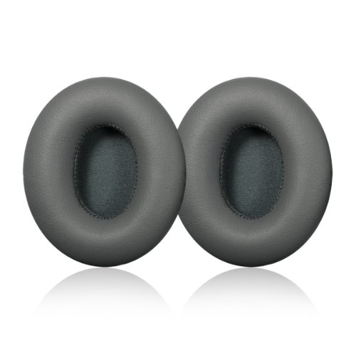 Grey Replacement Earpad Cushions For Monster Beats By Dr. Dre Solo & Solo Hd Headphone