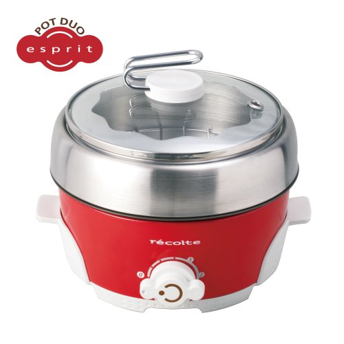 recolte Pot DUO(ポットデュオ) Esprit(エスプリ) レッド RPD-2(R)