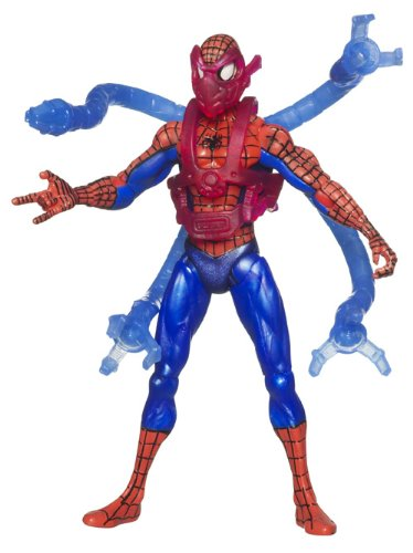 SpiderMan 2010 Series Three 3 3/4 Inch Action Figure Mega Arms SpiderMan
