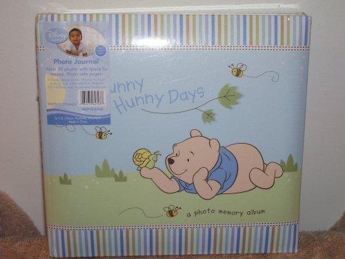 Disney Winnie the Pooh Baby Photo Journal (For Boy) - 1