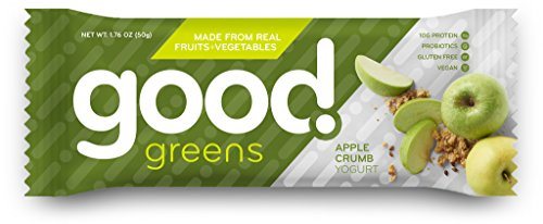 Good Greens Protein Bars - Apple - 1.76 oz