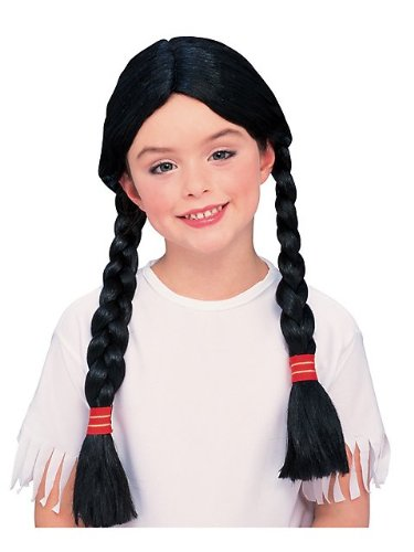 Native American Girl Wig Halloween Accessory
