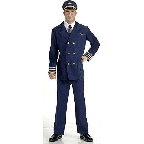 Airline Pilot Adult Costume - Standard