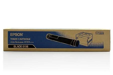Epson Aculaser C 9100 B - Original Epson C13S050198 - Cartouche de Toner Noir - 15000 pages