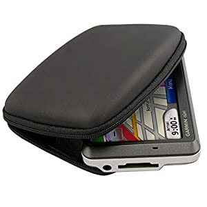 eForCity Compact Premium GPS Carrying Case Compatible with Garmin Nuvi 255W 4.3