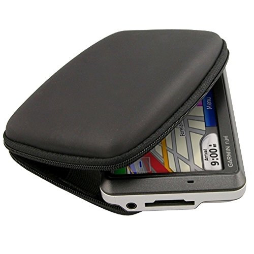 eForCity® BLACK Pouch Case Compatible with Garmin nuvi 760 755T 750 265WT GPS